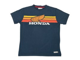 Sunset Navy Blue Tee